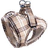 Komfortables Hundegeschirr Scottish Beige XXS-M, Größe:XS*